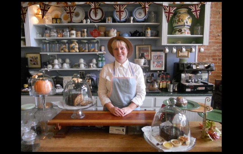 Tina 39 s traditional old english kitchen opens at the for Traditional english kitchen